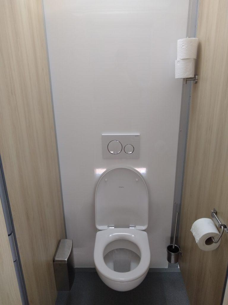 Toiletwagen hangtoilet