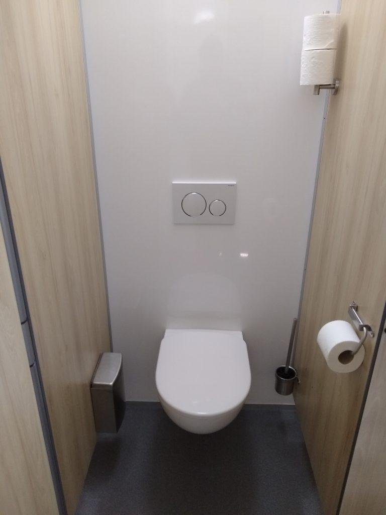 toiletwagen toilet dames